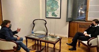 Pablo Micheli se reunió con Carlos Bianco e insistió en la necesidad de otro IFE.