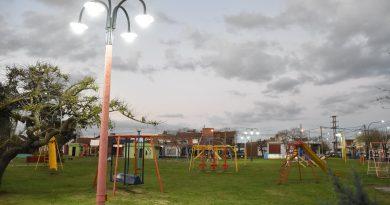 Se presentó la puesta en valor del Parque Infantil y el trabajo en espacios públicos