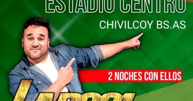 Segunda noche de La 2001 en Chivilcoy